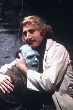 """This is a good boy! This is a mother's angel!"". Peter Boyle and Gene Wilder in director Mel Brooks' ""Young Frankenstein""."