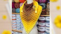 Easy Crochet Shawl | Bag O Day Crochet tutorial - YouTube Prayer Shawl Crochet Pattern, Crochet Prayer Shawls, Crochet Shawls And Wraps, Crochet Scarves, Crochet Clothes, Learn To Crochet, Easy Crochet, Knit Crochet, Crochet Cardigan