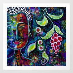Illumination Art Print by Pamela Cisneros - $16.64