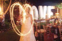Wedding sparkle acti