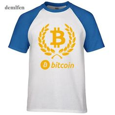 Tops & Tees T-shirts Awesome Cool T Shirts Bitcoin Digital Currency Black Funny Shirt Adult Relaxed Fit Casual Adult T-shirt Cotton Moderate Price