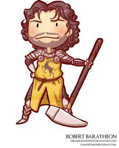 Robert Baratheon //  Game of Thrones cosplay group http://www.gameofthronescosplay.com | by Sara Manca http://heiligershadowfax.deviantart.com/