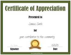 Nice editable certificate of appreciation template example with free printable certificate of appreciation template that can be customized online with your own text and logo yadclub Gallery