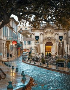 Streets of Avignon, France. Ig you love French culture & history then Avignon, France is a brilliant city break Places Around The World, The Places Youll Go, Travel Around The World, Places To See, Dream Vacations, Vacation Spots, Avignon France, Provence France, Annecy France