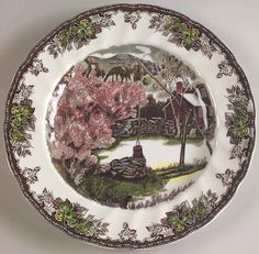 Vintage Johnson Brothers Olde English Countryside Dinner