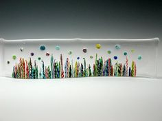Under the sea glass panel by WhatIlike on Etsy, $225.00