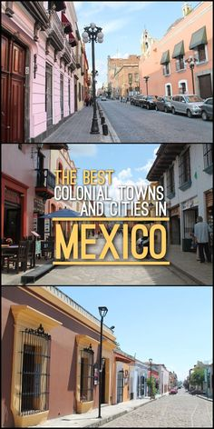 Planning to visit Mexico? Make sure to spend a few days exploring its rich history and colonial architecture. Check out this post for some of the best Colonial Towns and Cities in Mexico!