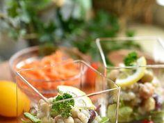 蕎麦の実とMIXビーンズのマクロビサラダの画像