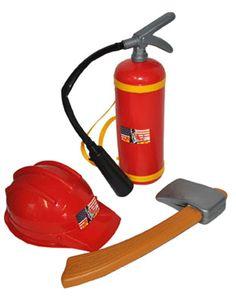 bijl,bijlen,blusser,blussers,brandweer,brandweerblusser,brandweerhelm,brandweerhelmen,firemen,helm,helmen,pakket,set,sets