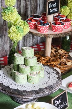 Woodland Themed Birthday Party