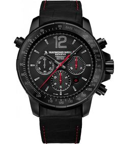 RAYMOND WEIL Genève > Nabucco 7850-BSF-05207 Mens Watches - Steel, titanium and carbon fiber Rivoluzione II | RAYMOND WEIL Genève Luxury Watches > Swiss Luxury Watches, Street Price of $2995.00