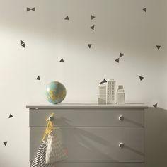 Wallsticker med trekanter - ferm LIVING - BILLIG FRAGT