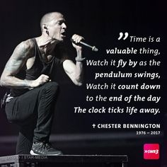Rest peacefully, Chester. I hate that you're gone. ♡♡