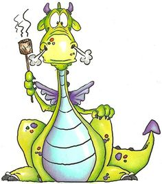 Puff, the magic dragon Cartoon Dragon, Cartoon Art, Animal Drawings, Art Drawings, Cute Dragons, Baby Dragon, Dragon Art, Whimsical Art, Mythical Creatures