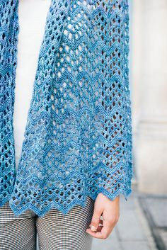 Ripple Shawl - US Version by Karen Whooley