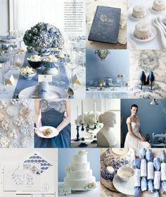 Inspiration Board: (Delfts) blauw - Pinterested @ http://wedspiration.com.