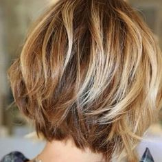 Short bob hairstyles,hairstyles,short volumn haircuts ,short bob curl hairstyle ideas hairstyles bob These Beautiful Blonde Mix Brown Hair Color With Highlights You'll Want To Try Short Bob Hairstyles, Curled Hairstyles, Cool Hairstyles, Hairstyle Ideas, Bob Haircuts, Haircut Short, Hair Ideas, Short Choppy Haircuts, Trendy Haircuts