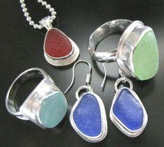 Jewelry by West Coast Sea Glass
