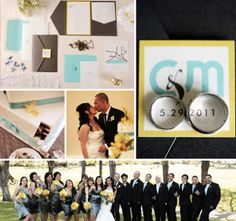 Meet Marco & Coleen and see their beautiful #pocketfold #wedding #invitation.