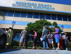 Early voting starts in Miami #examinercom