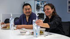 David Chang and Traci Des Jardins Taste Astronaut Coffee