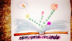 Open your mind, grow flowers on the inside too