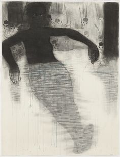 kerry james marshall | MoMA | Study for Blue Water ... (1991)