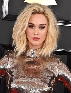Katy Perry à la cérémonie des Grammy Awards 2017