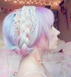 Identical to when I had rainbow pastel hair – Hair & Co Pastel rainbow hair. Identical to when I had rainbow pastel hair Pastel rainbow hair. Identical to when I had rainbow pastel hair Pastel Rainbow Hair, Pastel Hair, Colorful Hair, Purple Hair, Pink Purple, Pastel Makeup, Bright Hair, Teal Green, Cotton Candy Hair