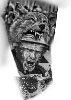Tiger Eyes Tattoo, Ozzy Tattoo, Yogi Tattoo, Viking Tattoos, Forearm Tattoos, Photoshop, Black And Grey Tattoos, Fashion Sketches, Tattoo Designs