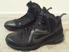 4dd5f6f059a 2011 Nike Air Max LEBRON JAMES IX 9 BLACK ANTHRACITE GREY SILVER DS 10  Nike   BasketballShoes  LebronJames