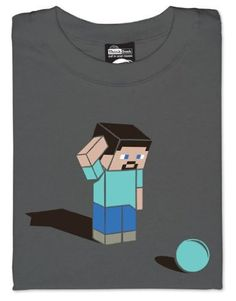 Minecraft Confused Shirt