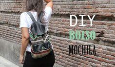 DIY Tutorial: Bolso Mochila muy fácil :D
