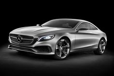 Mercedes S-Class Coupe Concept #car #concept #mercedes