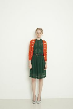 one of my favorite color combinations: Ingrid Starnes Spring 2013