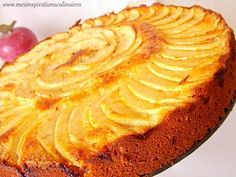 Mäkké apple a frangipani Tart Recipes, Apple Recipes, Cooking Recipes, Köstliche Desserts, Delicious Desserts, Creme Frangipane, French Cake, Cake & Co, Thermomix