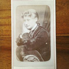 Victorian carte de visite of a young woman. The picture is dated June 24th 1879 and was taken at the studios E A Carnell in Nottingham. The picture is from a lot which came mainly from Nottingham. It is available now at http://ift.tt/1U6wROQ We also stock vintage sheet music stamps and covers postcards and other ephemera and vintage items. #followvintage #etsy #etsyshop #etsyseller #etsystore #ephemeraforsale #ephemera #vintageshop #vintage #cartesdevisite #cartedevisite #victorian…