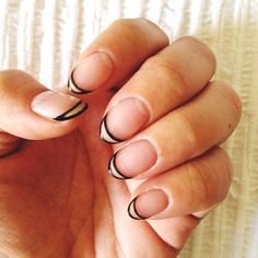 A different kind of French manicure