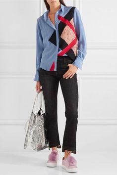 Sam Edelman - Leya Faux Fur-embellished Suede Slip-on Sneakers - Pink - US