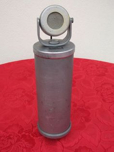 MICROPHONE TELWA VA5 1930'S WITH TUBE GERMAN WW2 (NEUMANN ERA) POLITICAL MEETING #TELWA