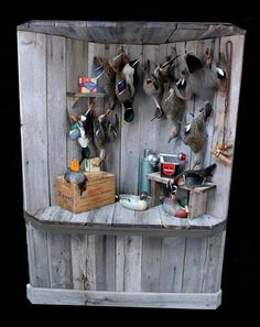 Main Forums: Duck Boat/Hunting Forum: Deadmount finally coming together! Duck Hunting Decor, Duck Hunting Blinds, Hunting Art, Hunting Decorations, Hunting Stands, Taxidermy Decor, Taxidermy Display, Bird Taxidermy, Wood Duck Mounts