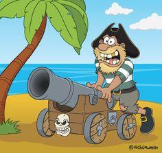 pirate-cannon-cartoon.jpg (620×587)