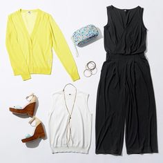 Shop our dresses and jumpsuits in a variety of styles including built-in bra, sleeveless, maxi, and A-line dresses UNIQLO US. Uniqlo, Classy, Lifestyle, Casual, Skirts, How To Wear, Women's Dresses, Summer 2016, Work Outfits