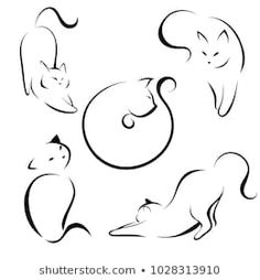 Find Cats Black Lines Linear Design Cats stock images in HD and millions of other royalty-free stock photos, illustrations and vectors in the Shutterstock collection. Thousands of new, high-quality pictures added every day.