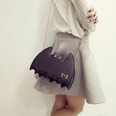 Women Cute Bags Bat Cartoon Chain Lovely Shoulder Bags Crossbody Bags is Worth Buying - NewChic