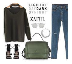"""""""Zaful 24"""" by merima-kopic ❤ liked on Polyvore featuring DKNY, Zimmermann, Chicnova Fashion and zaful"""