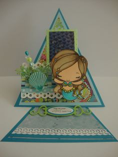 Triangle Easel Card by Sonia