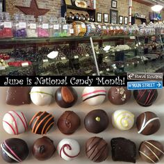 June is National Candy Month - the perfect excuse to get out and enjoy the #RR2MS Cultural Trail, complete with visits to the Martinsville Candy Kitchen and Confection Designs!