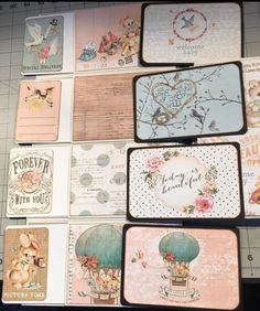 XII A Calendar Year - Foto Folio created by crafter Pam Bradley using Prima, Heaven Sent paper collection.   Click on the link below to purchase the tutorial.   http://shop.paperphenomenon.com/XII-A-Calendar-Year-Foto-Folio-Tutorial-Video-Combo-tutvid0135.htm