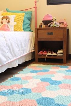 Home is where your heart is Kids Room Design, Baby Decor, Girls Bedroom, Sweet Home, Kids Rugs, Projects, Crochet Rugs, Inspiration, Luxurious Rugs